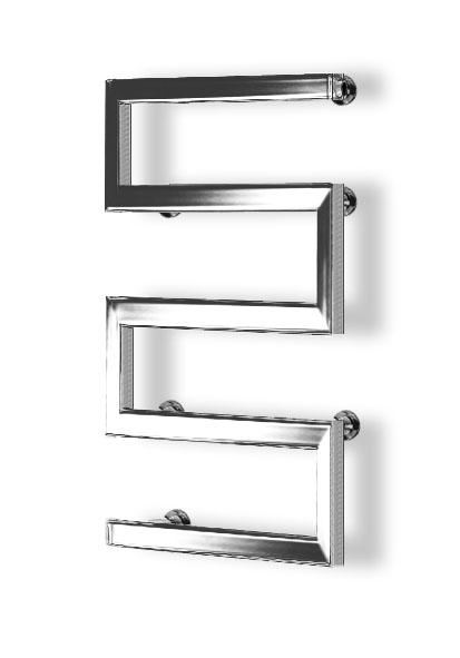 Special s shape rail chrome v1 towel rail